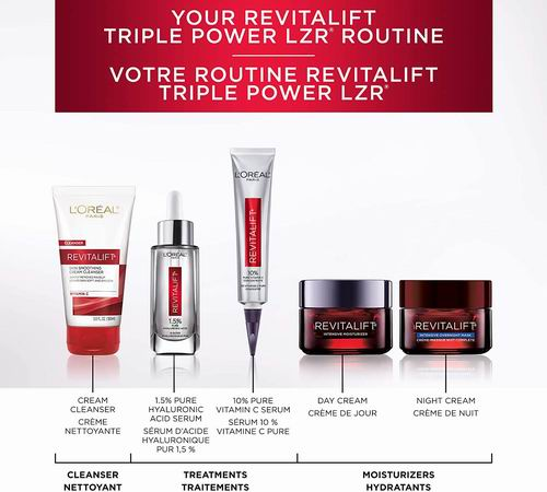 L'Oréal Paris Revitalift 10%维C美白抗氧化精华30毫升 18.35加元,原价 29.66加元