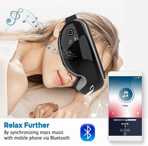 RENPHO 带加热 眼部按摩器 55.49加元限量特卖包邮!缓解眼睛疲劳,改善黑眼圈干眼,促进睡眠!