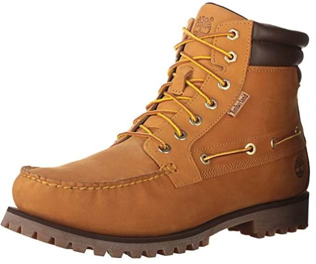 Timberland 男士7眼系带黄靴 60.27加元(8.5码),原价 142.86加元,包邮