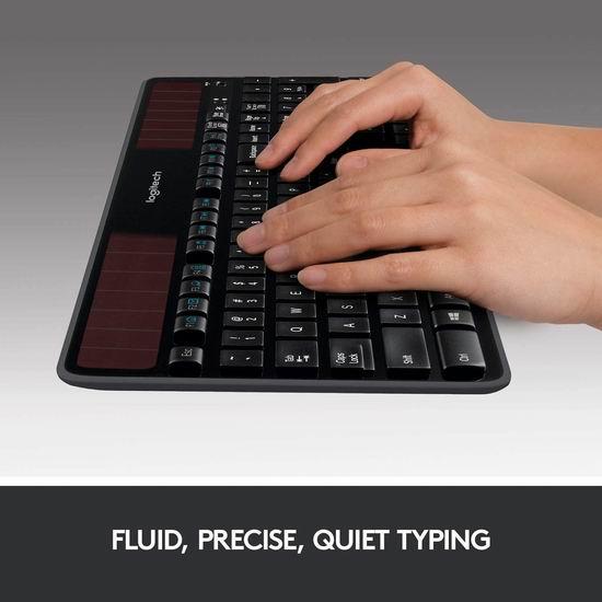 Logitech 罗技 K750 太阳能无线键盘 7.5折 59.99加元包邮!