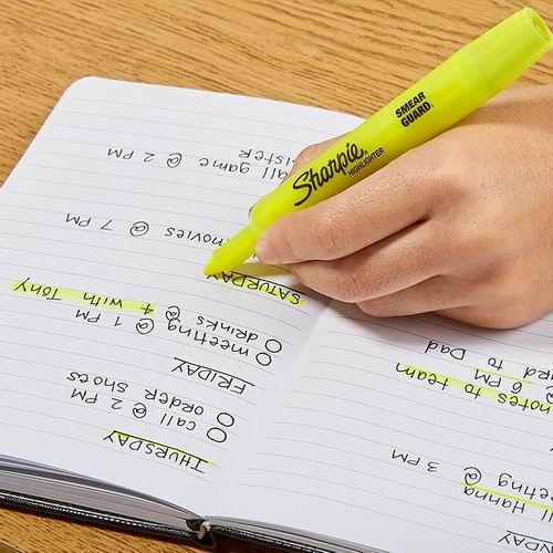 Sharpie ACCENT 黄色荧光笔 4支 1.97加元