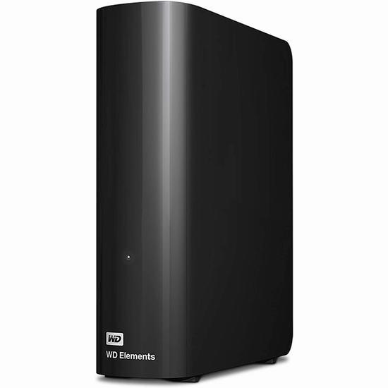 金盒头条:历史新低!WD Elements 新元素系列 12TB 超大容量 台式移动硬盘 229.99加元包邮!