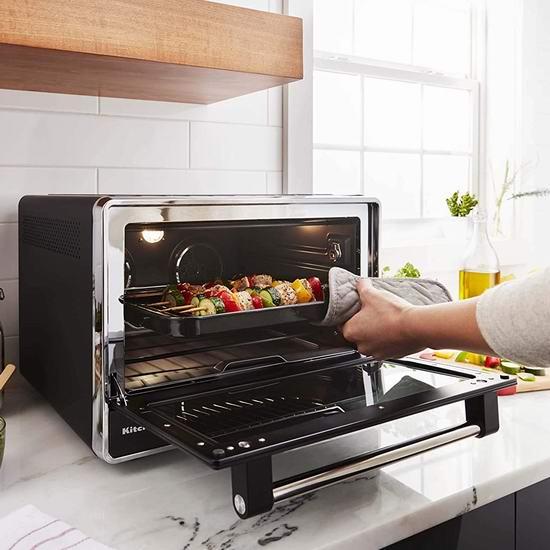 历史最低价!KitchenAid KCO255BM 双风扇 空气对流烤箱6.7折 269.99加元包邮!
