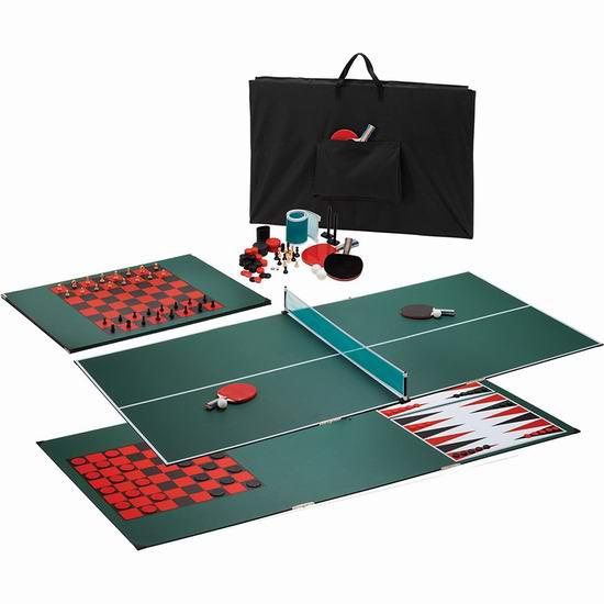近史低价!Viper 便携可折叠 三合一 棋盘/乒乓球台面5.6折 149.99加元包邮!