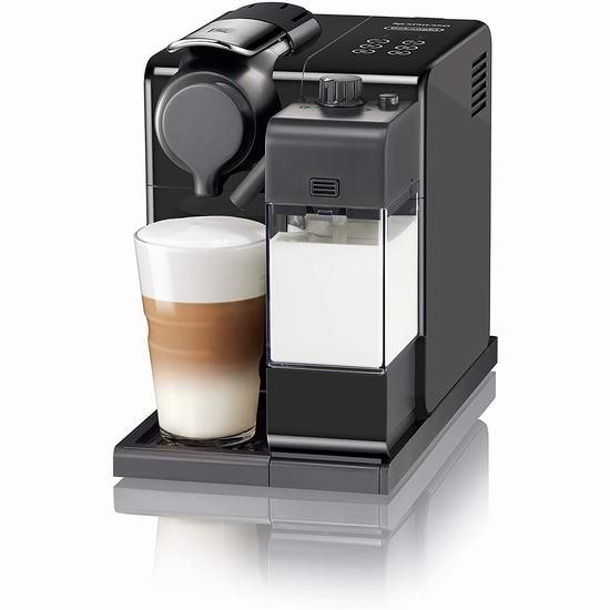 历史新低!Delonghi 德龙 Nespresso Lattissima Touch 一键式触控 胶囊咖啡机6.3折 349加元包邮!