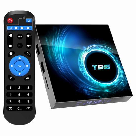 TUREWELL T95 6K超高清 网络电视机顶盒(4GB/64GB) 50.56加元包邮!