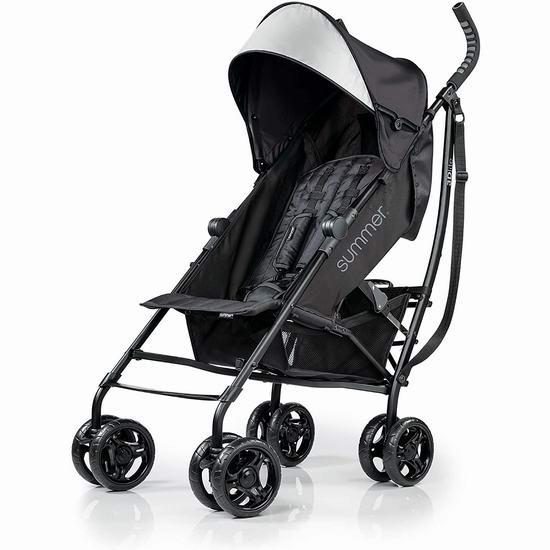 历史新低!Summer Infant 3D Lite 超轻婴儿推车6.1折 79.87加元包邮!2色可选!