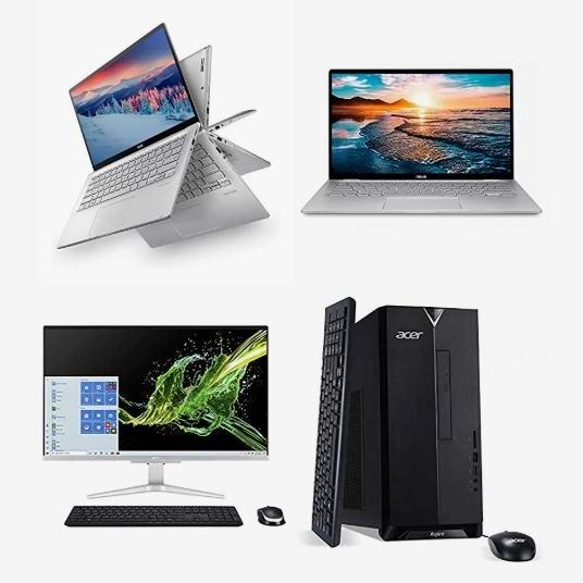 精选 ASUS、Acer、Lenovo、LG、HP、Dell 等品牌笔记本电脑、一体式台式机、台式机6.4折起!会员专享!
