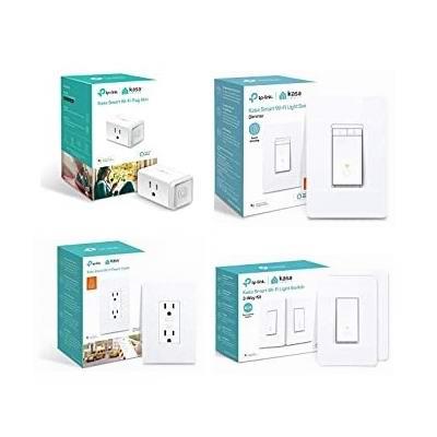 历史新低!精选 TP-Link Kasa Smart WiFi 智能插头、智能开关、智能插座5.6折起!低至12.99加元!会员专享!