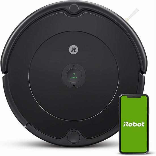 历史最低价!iRobot Roomba 692 Wi-Fi 智能扫地机器人5.6折 254.84加元包邮!