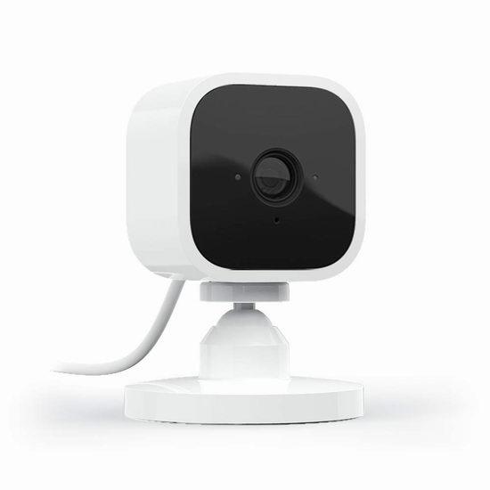 历史最低价!Blink Mini 1080P 家用智能监控摄像头 29.99加元!