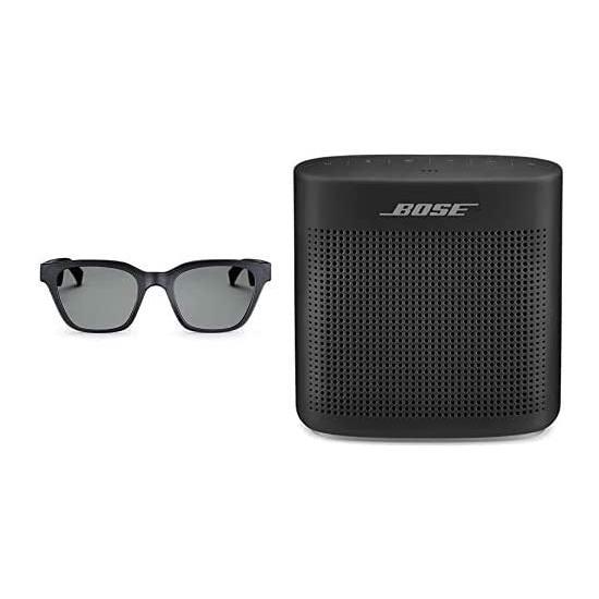 历史新低!Bose Frames 智能音频太阳镜 + Bose SoundLink Color II 蓝牙无线音箱套装 299加元包邮!会员专享!