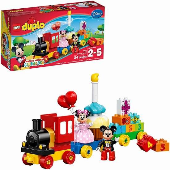 LEGO 乐高 DUPLO 10597 米奇和米妮的生日派对6.5折 19.52加元!