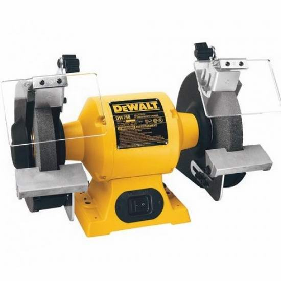 历史新低!DEWALT 得伟 DW756 6英寸台式电动抛光机/砂轮机 99.99加元包邮!