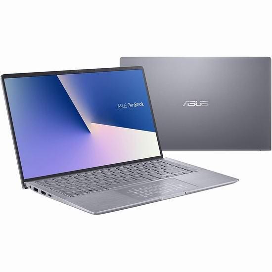 历史最低价!ASUS 华硕 ZenBook 14寸超薄笔记本电脑(16GB, 512GB SSD, GeForce MX350) 999加元包邮!