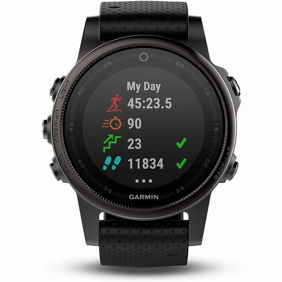 黑五头条:历史新低!Garmin 佳明 Fenix 5S 多功能GPS户外智能手表4.1折 329.99加元包邮!