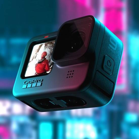 历史最低价!GoPro HERO9 Black 5K超高清 运动相机 499.99加元包邮!全新一代拍片神器!