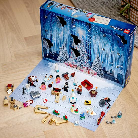 历史新低!新品 LEGO 乐高 75981 哈利波特 圣诞倒数日历(335pcs)8折 39.87加元包邮!
