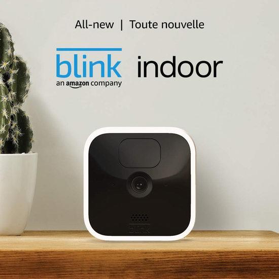 历史新低!新品 All-new Blink 室内安防 智能摄像头 1-5摄像头套装 69.99加元起包邮!
