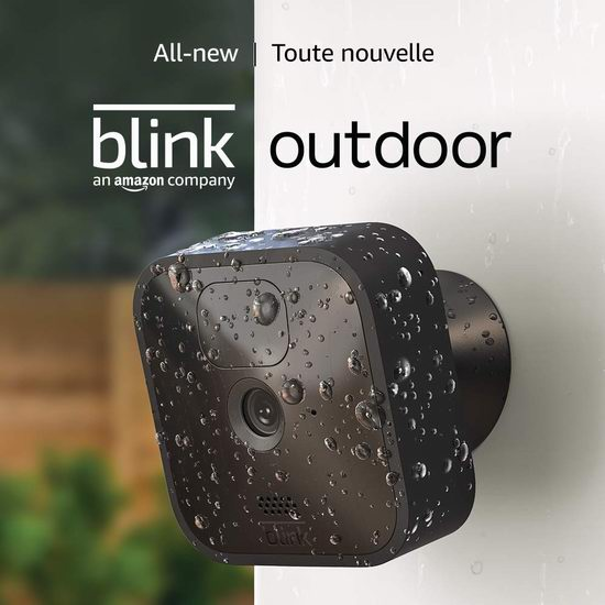 历史新低!新品 All-new Blink 室内/室外 家用高清安防 智能摄像头 1-5摄像头套装 84.99-329.99加元包邮!