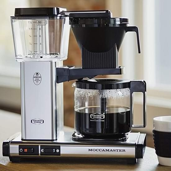 历史新低!Technivorm Moccamaster KBG 59616 顶级滤泡式咖啡机 329.99加元包邮!