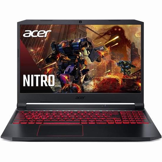 历史最低价!Acer 宏碁 Nitro 15.6英寸游戏笔记本电脑(8GB, 512GB SSD, GTX 1650Ti) 999.99加元包邮!限时送《漫威复仇者》游戏!