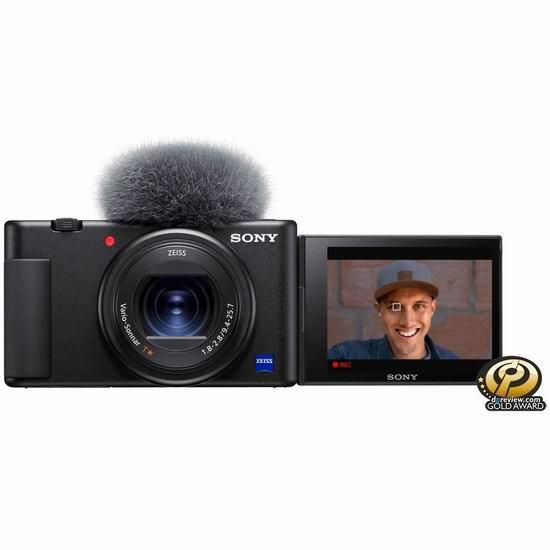 黑五预售:历史新低!Sony 索尼 ZV-1 4K视频/美肤拍摄/强悍对焦 数码相机 898加元包邮!Vloger神器!
