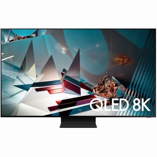 历史新低!Samsung 三星 Q800T 65英寸 8K超高清 QLED智能电视5.6折 2798加元包邮!