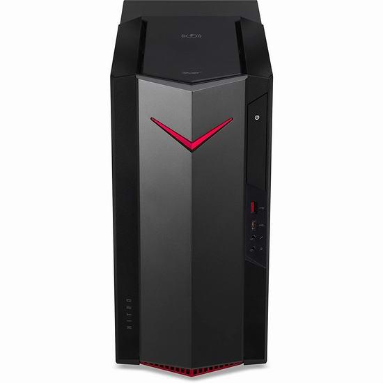 金盒头条!Acer 宏碁 Nitro N50-610-ER11 游戏台式机(8GB, 512GB SSD, GTX 1650)7.3折 799.99加元包邮!