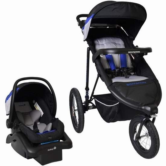 Schwinn 01137CEHC Interval 大三轮婴儿推车+提篮套装 322.97加元包邮!