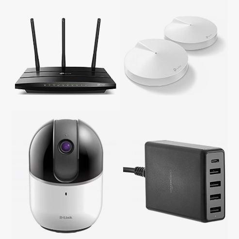 精选多款 TP-Link、D-Link、AmazonBasics 等品牌无线路由器、信号延伸器、集线器、无线监控摄像头、智能显示器、USB充电器、无线网卡等4.4折起!会员专享!