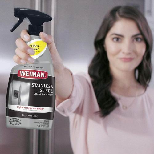 Weiman不锈钢清洁剂 22盎司 10.99加元
