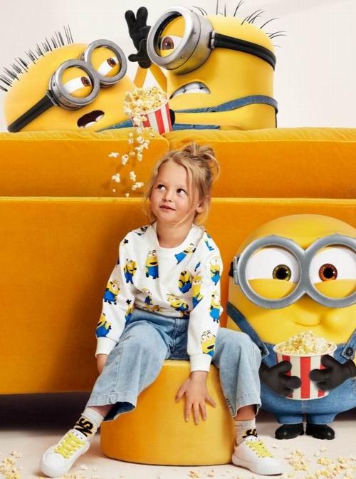 H&M精选儿童运动衫、开衫、衬衣、牛仔服 3.7折 2.99加元起特卖!封面款13.99加元