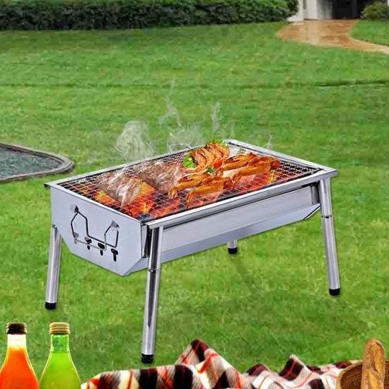 历史最低价!烤串必备 ISUMER 不锈钢 中式碳烧BBQ烧烤炉 30.32加元!