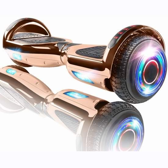 XPRIT 高颜值 蓝牙智能体感平衡车 169.95加元包邮!3色可选!