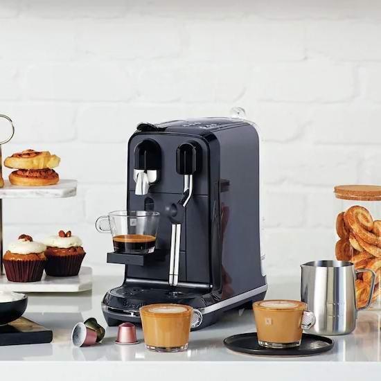 历史新低!Breville 铂富 BNE500BKS1BUS1 Nespresso Creatista Uno 意式浓缩 胶囊咖啡机 384.99加元包邮!