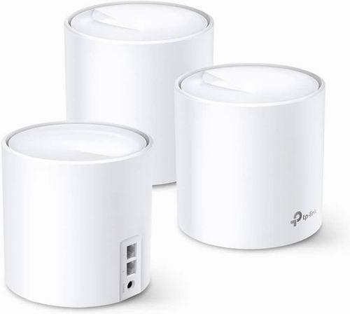 历史最低价!改变游戏规则!TP-Link WiFi 6 Mesh WiFi AX3000 双频智能无线路由器 399.99加元,原价 549.99加元,包邮
