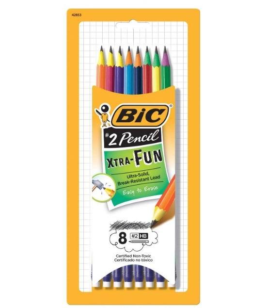 BiC PGEP81-BLK 外观彩色铅笔 8支 1加元