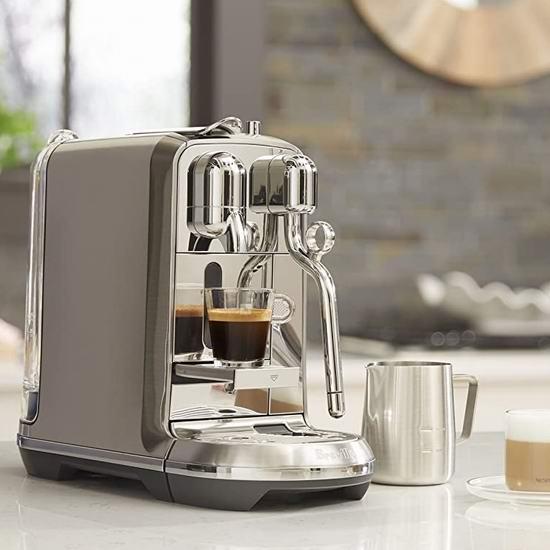 近史低价!Breville 铂富 BNE800BSS Nespresso Creatista Plus 打奶泡一体 胶囊咖啡机 559加元包邮!