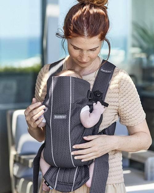 BabyBjörn Baby 3D迷你业婴儿背带  127.5加元+包邮