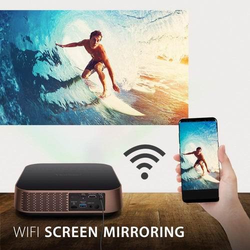 ViewSonic M2 便携式微型投影仪 681.63加元,原价 926.01加元,包邮