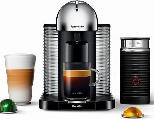 精选多款Nespresso Vertuo系列胶囊咖啡机+奶泡机 7折 223加元包邮!