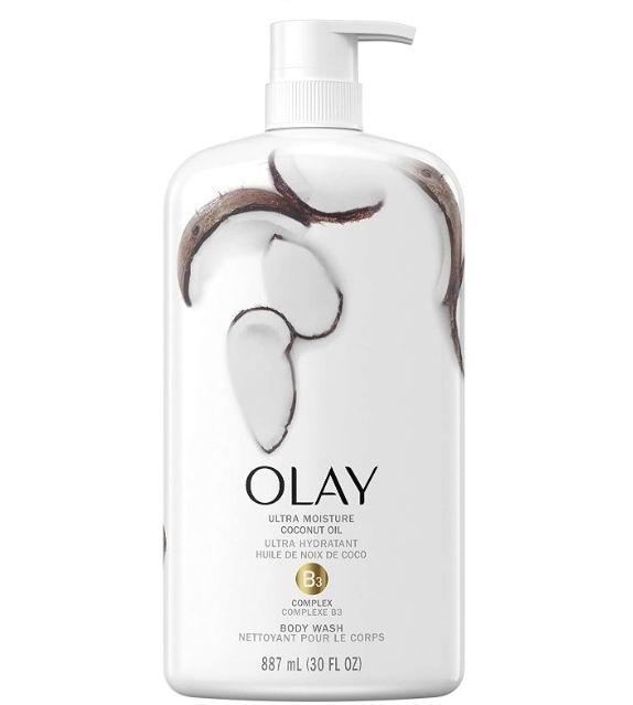 Olay玉兰油超保湿椰子油沐浴露 887毫升 8.97加元