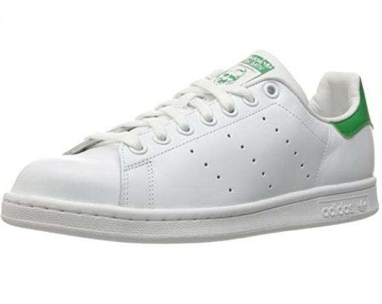 adidas Stan Smith 女士绿尾小白鞋 62.86加元(6.5/8码),原价 110加元,包邮