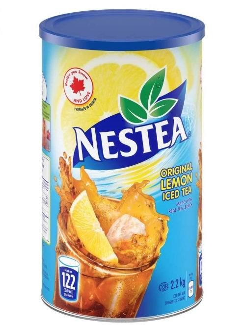 NESTEA 柠檬冰茶 2.2公斤 10.42加元,原价 11.99加元