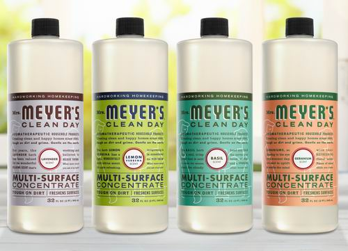 Mrs. Meyer's 家用表面清洁剂 964毫升 9.11加元,多种味道可选