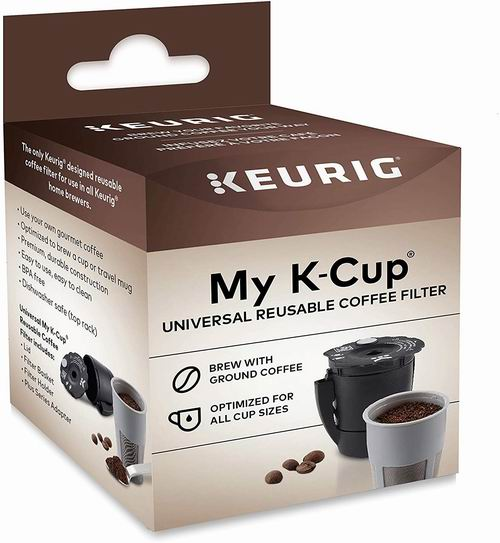 Keurig My Kcup 可重复使用的研磨咖啡过滤器 13.99加元,原价 19.99加元