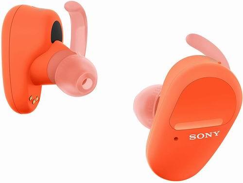 Sony  WF-SP800N真无线耳机 7.1折 198加元(4色可选),主动降噪+18小时续航