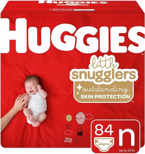Huggies Little 婴幼儿纸尿裤 18.97加元(原价 24.56加元, 新生儿/size1)