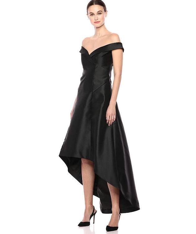 女士露肩礼服裙 55.27加元(4码),原价 146.69加元,包邮